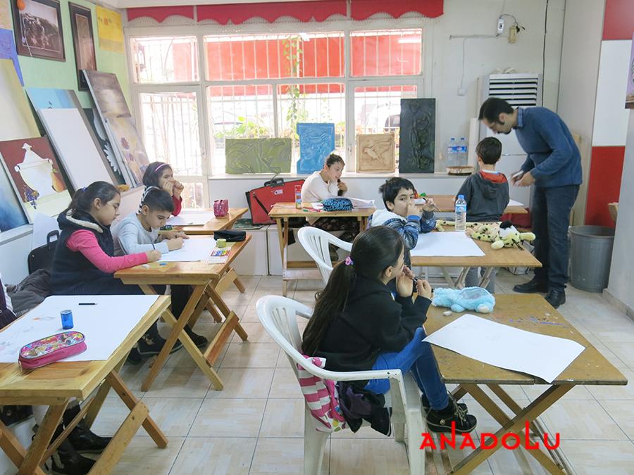 Çocuklar İçin Geliştirilebilir Yetenek Eğitimleri Devam Etmekte Adana