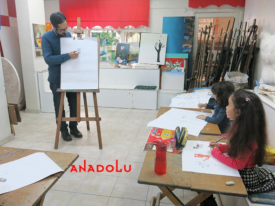 Çocuklar İçin Çizim Eğitimleri Adana