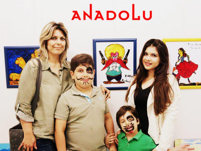Adanada Çocuklara Yönelik Resim Sergisi