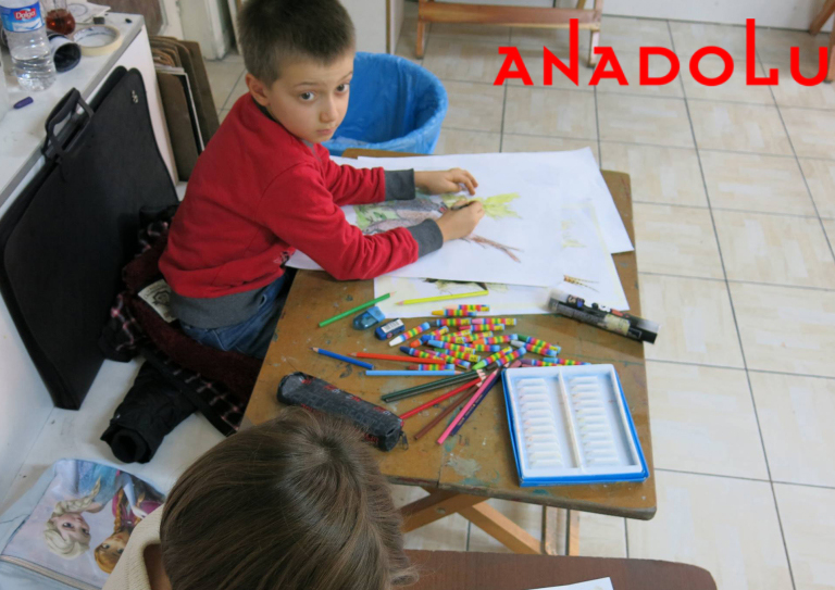Çocuklar Resim Sanat Eğitimleri İzmir