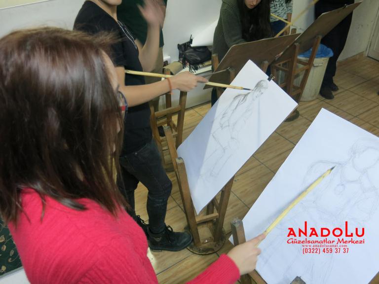 Adanada Anadolu Güzel Sanatlarda Orjinal Teknik Eğitimleri