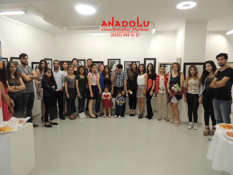 Adanada Anadolu Güzel Sanatlarda Güzel Sanatları Kazananların Sergileri